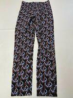 Womens PRAIRIE UNDERGROUND Multicolor Side Zip Pants Sz XS