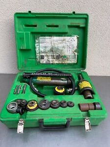 Greenlee 767 slug buster  Hydraulic Knockout Kit
