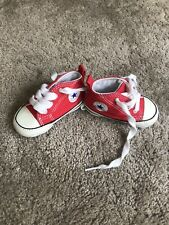 Baby Boy Converse Red Uk 1