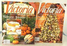 LOT 2 - BLISS VICTORIA MAGAZINE - OCTOBER-DECEMBER 2013 *VOL 07, NO.06-07 ISSUE