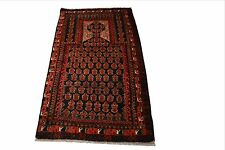 """Crafters&Weavers Oriental rug Tribal Vegetables Dyes size 2; 10""""  x 5' 2""""  #3120"""