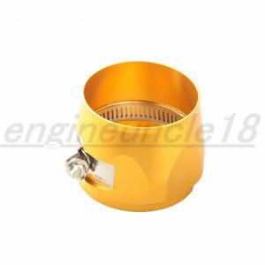 Aluminum HEX Finishers Fuel Hose Clamp -30AN 30AN AN30 Golden