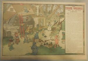 """""""The Teenie Weenies"""" Sunday by Wm. Donahey from 3/25/1917 Tabloid Page Size!"""