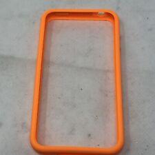 iPhone 4 Orange Bumper Phone Cover Case