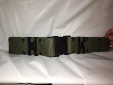 Genuine US Military Issue Pistol Belt Tactical/Utility Quick Release OD - LARGE