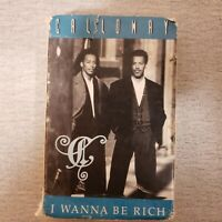 Calloway I Wanna Be Rich Cassette Tape Single ZST74005 Paper Case