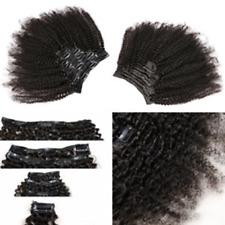 KeLang Hair African American Afro Kinky Curly Clip In Human Hair Extensions Hair