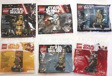 LEGO Star Wars Polybag Lot - 30602, 30624, 40300, 40176, 40298, 5002948- C3PO