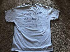 Maroon 5 2003 Event Staff Shirt Large Unc University Northern Colorado Levine