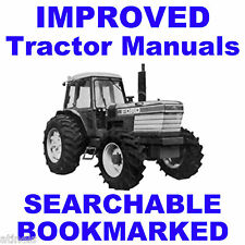 Ford 8000 8600 8700 Tractor Repair Service Shop Manual SEARCHABLE BOOKMARKED CD