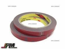 Tow rolls NEW 3M Automotive Acrylic Double Sided Foam Adhesive Tape 3m x 10mm