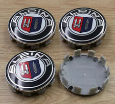 4Pcs 68mm ALPINA Sports Racing Wheel Center Caps Hub Cover Hub Caps Emblem Badge