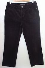 Mid-Rise Corduroy Regular Machine Washable Jeans for Women