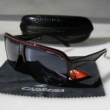 Men Retro Sunglasses Round Matte Frame Black High Quality Carrera Glasses LX80