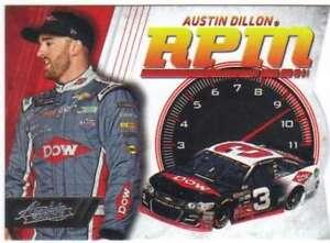2017 Panini Absolute Racing RPM #15 Austin Dillon