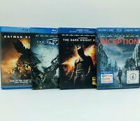 Chris Nolan Blu-ray Lot!: Batman Begins, The Dark Knight, TDK Rises, Inception!!