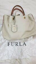 Furla Leather Off white Handbag