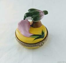 Limoges Hummingbird Trinket Box