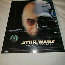 STAR WARS LIMITED EDITION ANAKIN SKYWALKER MASTERPIECE SIGNED David Prowse