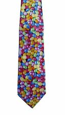 Bright Jelly Beans all-over 100% Polyester Classic Tie