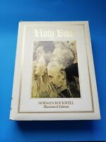 King James Holy Bible Red Letter Edition Norman Rockwell Illustrated Vintage