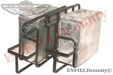 NEW ROYAL ENFIELD CLASSIC LH RH SIDE LUGGAGE PANNIER CARRIER WITH CASE BOX