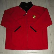 "Ferrari Fleece Jacket ""XXL"" Red 1999 F1 Jacke Full Zip Official Product"