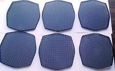 "7"" Metal Speaker Grill octagon shape PPI Orion A/D/S Boston Acoustics - 3 Pair"