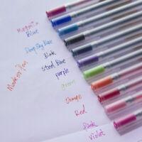 Set Gel Pens Ink Pen Maker Pen School Office Supply MUJI Style/ 0.5mm 12 Colors