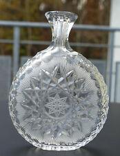 "Älteres Kristall Schnupftabakglas - Bixl "" Stiefel "" - Handgeschliffen ! Nr. 111"