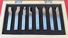 8pc HSS Drehmaschine  Drehstähle Werkzeug Satz Form Werkzeug 10mm Schaft Metall