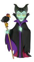 Funko--Sleeping Beauty - Maleficent Glow US Exclusive Rock Candy