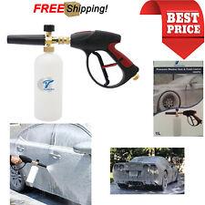High Pressure Washer Gun Snow Foam Car Lance Cannon Soap Spray Bottle Foamer Jet