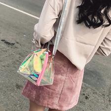 mini clear pvc transparent handbag shopping tote summer beach shouler bags JDUK
