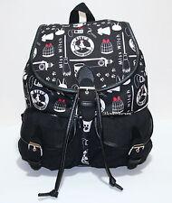 Kiki's Delivery Service Witch JIJI Cat Studio Ghibli Slouch Backpack Book Bag
