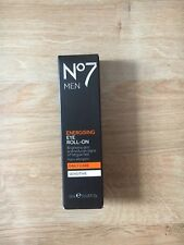 No7 for Men Energising Eye Roll On Daily Care BNIB Boxed