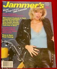 Jammers Handbook Magazine 1985 with Calendar #20 Near Mint Condition