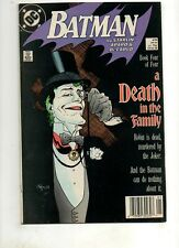 Batman #429 A DEATH in the FAMILY Conclusion!  JOKER Cover/Story 1989 NM- 9.2