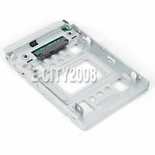 "2.5"" SSD 3.5"" Bay SATA Adapter Plateau Converter SAS HDD Support 654540-001 Neuf"