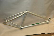"RYD Conflict 26""/700c fixie/track frame - silver, 16.5"""