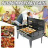Outdoor Portable Fold Barbecue Charcoal Grill Stove Stainless BBQ Patio Vacation
