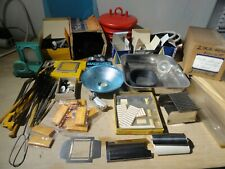 PHOTOGRAPHY ITEMS – MISCELLANEOUS LOT – USED IN FILM DEVELOPMENT - SEE PHOTOS