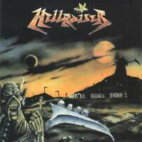HELLRAISER - WE'LL BURY YOU!(+1 Bonus)(1990) CD Jewel Russian Thrash Metal+GIFT