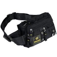 Men Nylon Hip Belt Bum Fanny Pack TacticalTravel Climb Sling Chest Waist Bag
