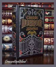 Barnes and Noble Leatherbound 'Classic Horror Stories' Poe Lovecraft Stoker- New