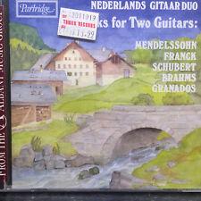 Works for Two Guitars - Nederlands Gitaar Duo - CD - Juun Voorhoeve & Erik Otte
