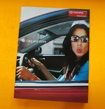 2005 TOYOTA CAR,TRUCK & SUV SHOWROOM SALES BROCHURE....42 - PAGES