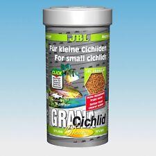 JBL Grana Cichlid Premium 250 Ml Tropical Fish Food Granules Krill Dwarf RAM