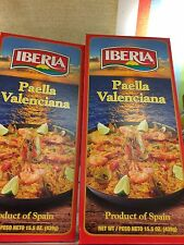 IBERIA AUTHENTIC PAELLA VALENCIANA- 2 PACKS OF 15.5 PRODUCT OF SPAIN🇪🇸🇪🇸🇪🇸