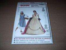 Burda Pattern 2479 Misses' Empress Washerwoman Dress / Costume Sz 10 ~ 20  Uncut